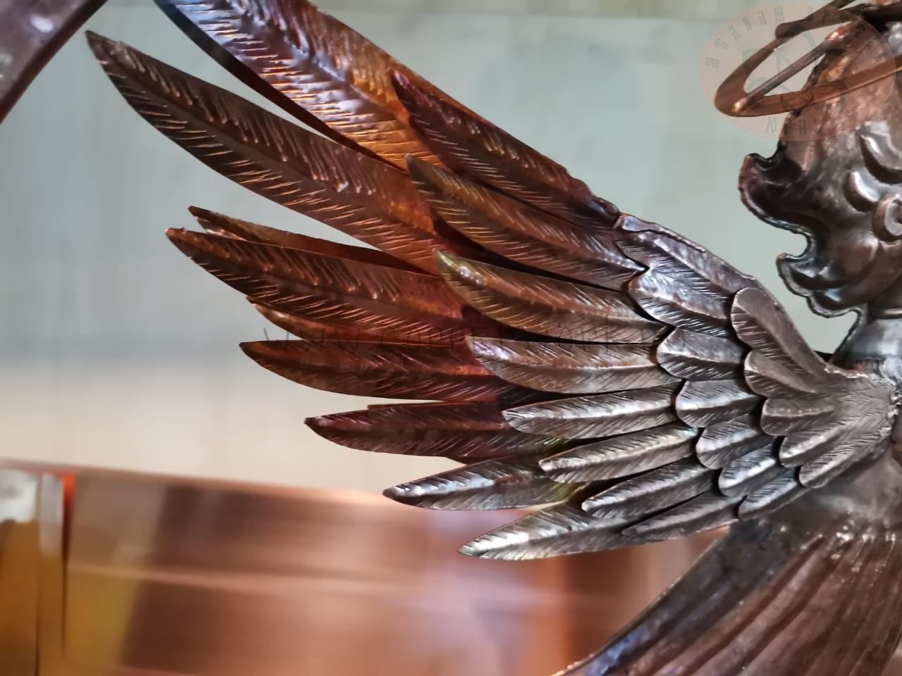 Крылья ангела из меди