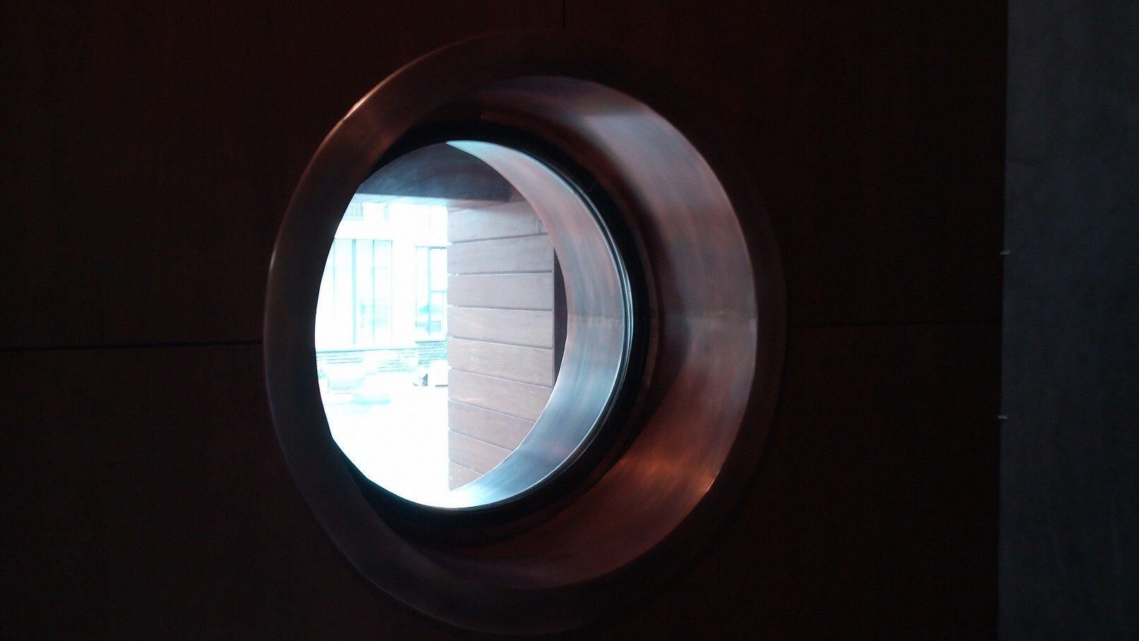 Отлив на круглое окно