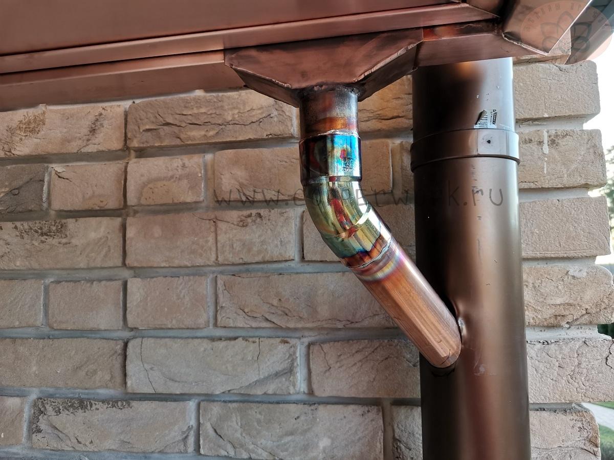Соединение медной и пластиковых труб