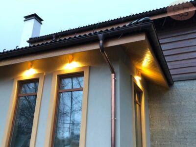 Светильники на фасад из меди