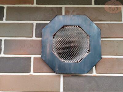 Вентиляционная решетка от дымохода вытяжки
